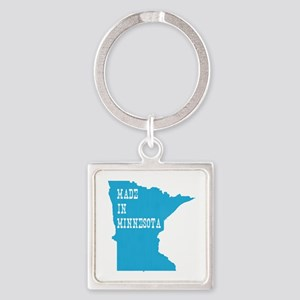 Minnesota Square Keychain
