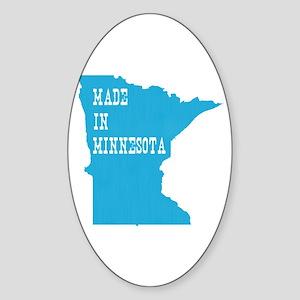 Minnesota Sticker (Oval)