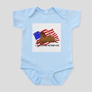Labrador Retriever USA Infant Bodysuit