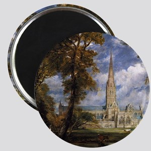 Beautiful Salisbury Cathedral Magnet