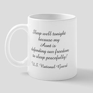 NG Nephew Sleep Well Aunt Mug