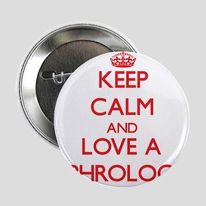 "Keep Calm and Love a Nephrologist 2.25"" Button"
