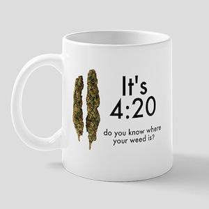 Marijuana - 420 T-shirts Mug