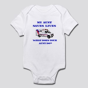 Ambulance Saves Lives-Aunt Infant Bodysuit