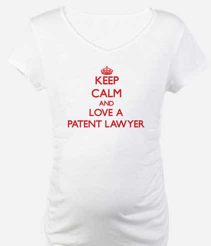 Keep Calm and Love a Patent Lawyer Shirt