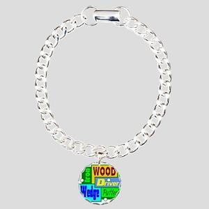 Golf Clubs Design Bracelet