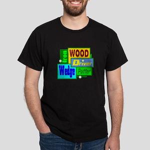 Golf Clubs Design T-Shirt
