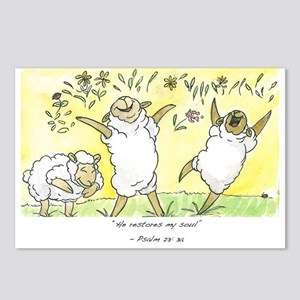 Psalm 23: 3a Postcards (Package of 8)