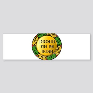 Proud to be Irish Bumper Sticker