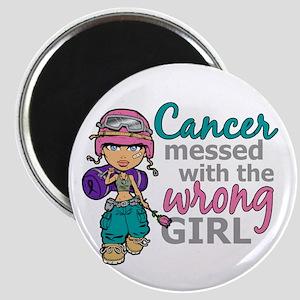 Combat Girl Thyroid Cancer Magnet