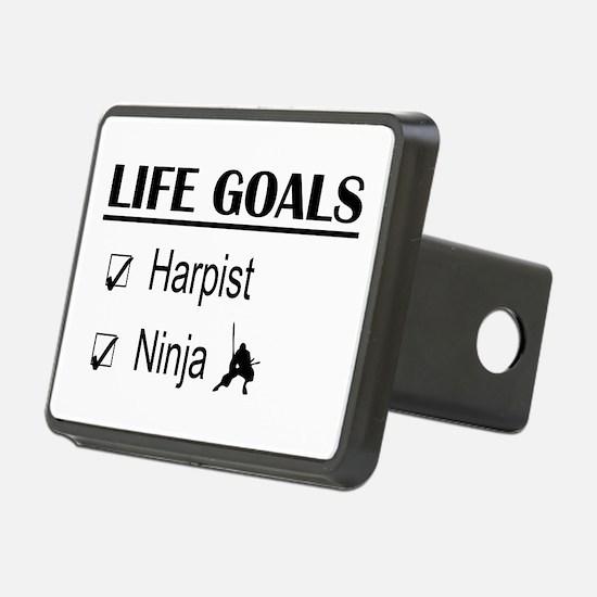 Harpist Ninja Life Goals Hitch Cover