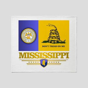 DTOM Mississippi Throw Blanket