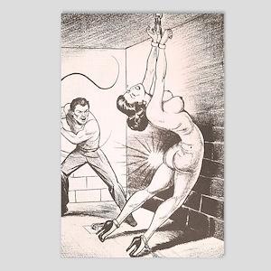 Nights of Horror by Joe S Postcards (Package of 8)