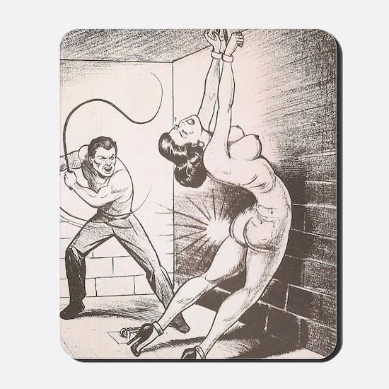 Nights of Horror by Joe Shuster Mousepad