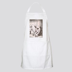 Nights of Horror by Joe Shuster Apron