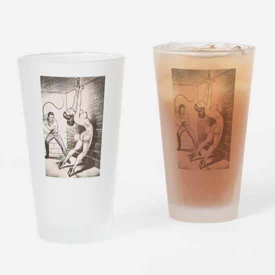 Nights of Horror by Joe Shuster Drinking Glass