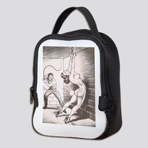 Nights of Horror by Joe Shuster Neoprene Lunch Bag