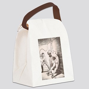 Nights of Horror by Joe Shuster Canvas Lunch Bag
