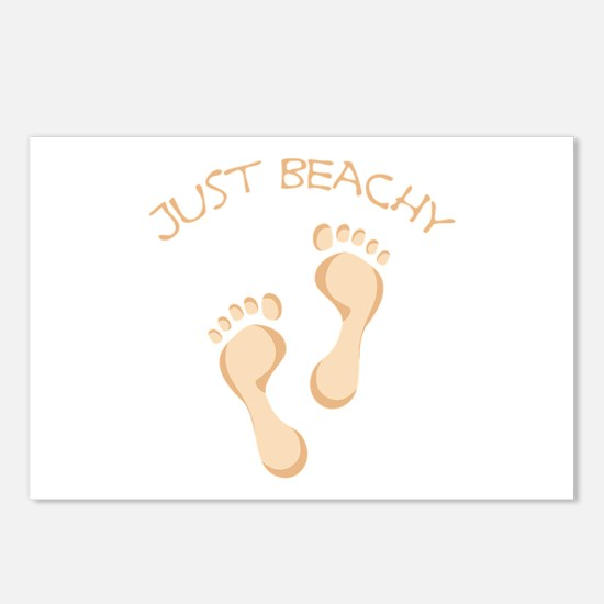JUST BEACHY Postcards (Package of 8)