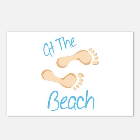at The Beach Postcards (Package of 8)