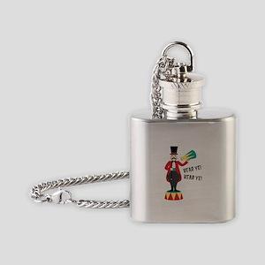 Hear Ye! Hear Ye! Flask Necklace