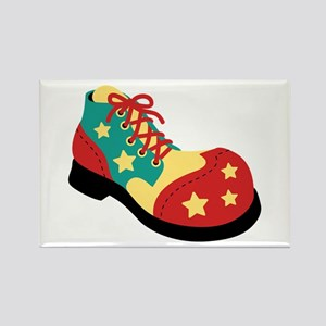 Circus Clown Shoe Magnets