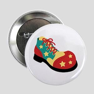 """Circus Clown Shoe 2.25"""" Button"""