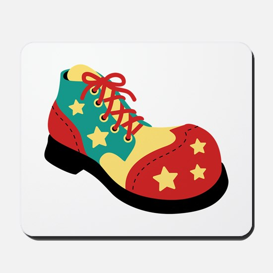 Circus Clown Shoe Mousepad