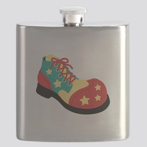 Circus Clown Shoe Flask