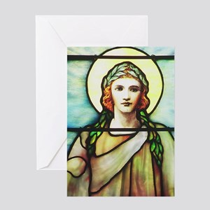 Angel of Charity Greeting Cards