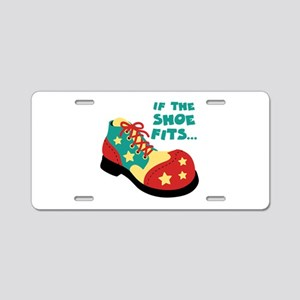 IF THE SHOE FITS... Aluminum License Plate