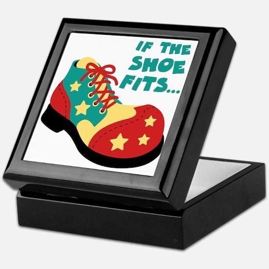 IF THE SHOE FITS... Keepsake Box
