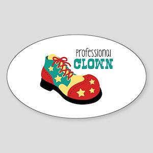 Professional Clown Sticker