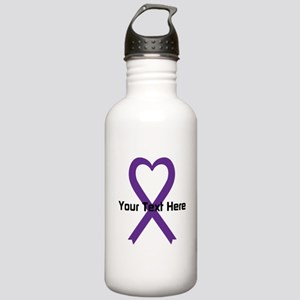 Personalized Purple Ri Stainless Water Bottle 1.0L