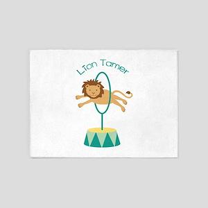 Lion Tamer 5'x7'Area Rug
