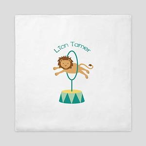 Lion Tamer Queen Duvet