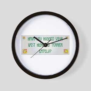Hugged Westy Wall Clock
