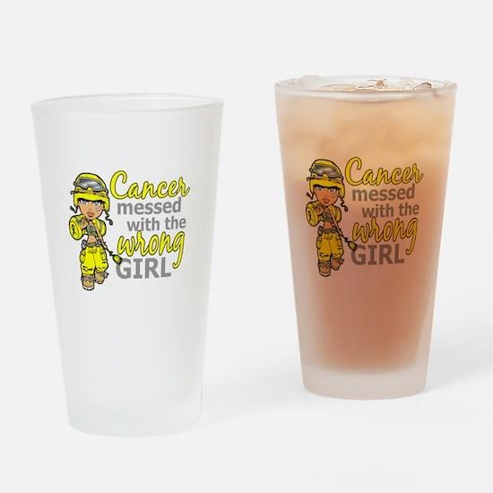 Combat Girl Sarcoma Drinking Glass