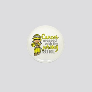 Combat Girl Sarcoma Mini Button