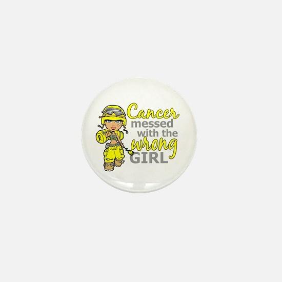 Combat Girl Sarcoma Mini Button
