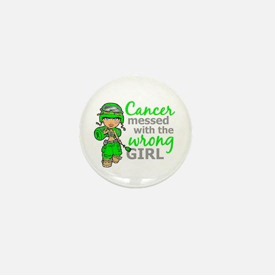 Combat Girl General Lymphoma Mini Button