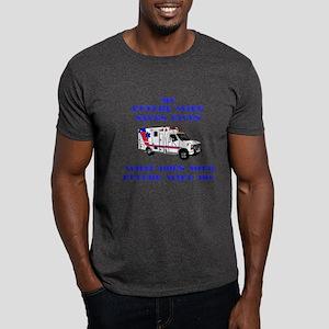 Ambulance Saves Lives- Future Dark T-Shirt