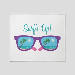 Surfs Up! Throw Blanket