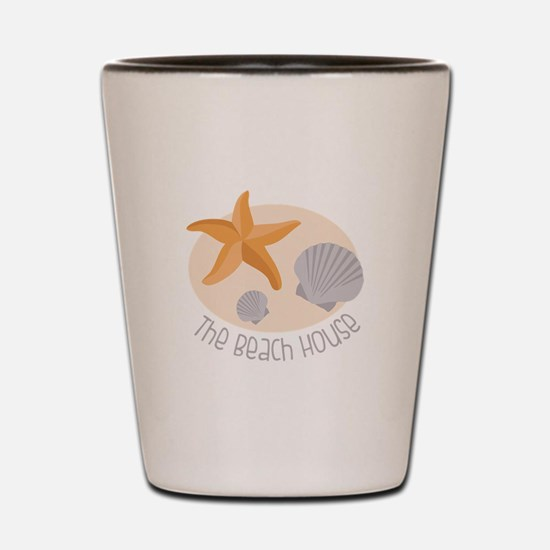 The Beach House Shot Glass