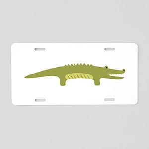 Alligator Animal Aluminum License Plate