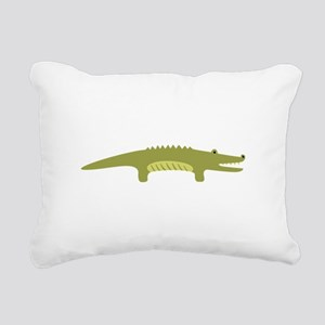 Alligator Animal Rectangular Canvas Pillow