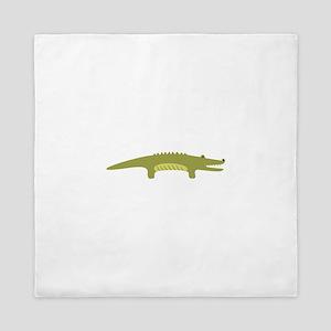 Alligator Animal Queen Duvet