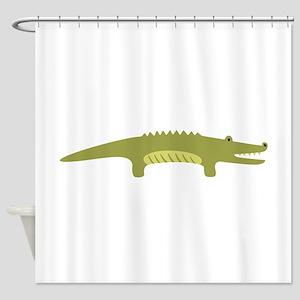 Alligator Animal Shower Curtain