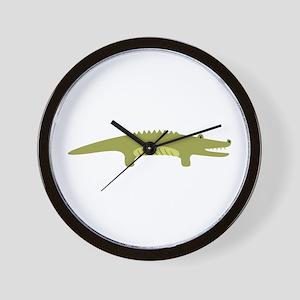 Alligator Animal Wall Clock