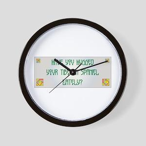 Hugged Tibbie Wall Clock